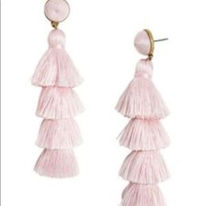 Pink Chandelier Earrings NWOT